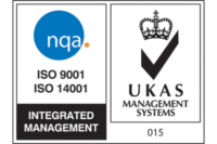 Quality integrated management systems logo for ISO9001 and ISO14001