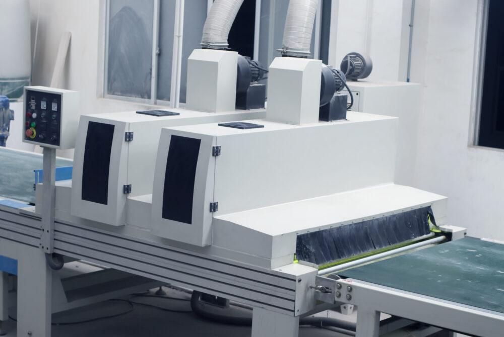 Coating application machinery