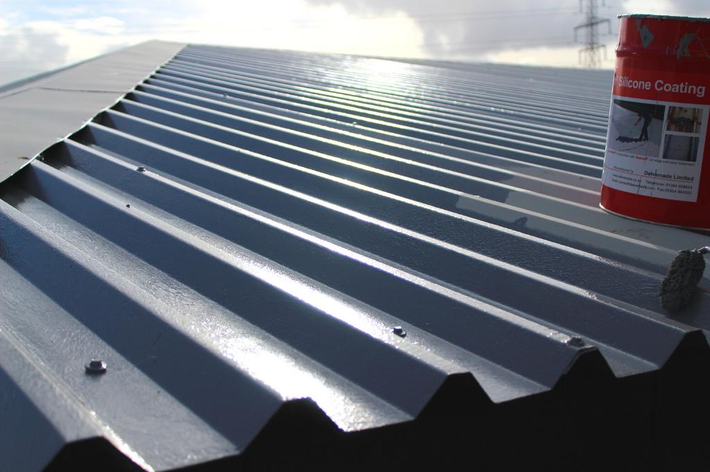 silicone-based roof coating