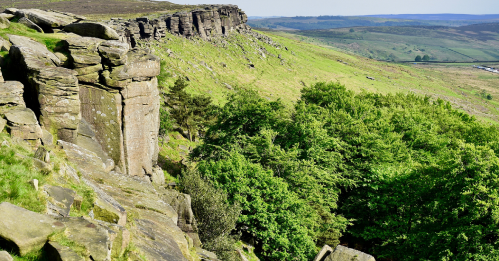 Adhesives Technical Manager will climb the Stanage Edge landscape in the Peak District